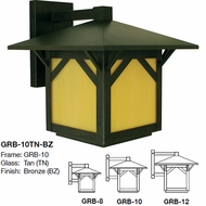 Arroyo Craftsman GRB Greenwood Craftsman Outdoor Wall Light Fixture
