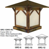 Arroyo Craftsman GRC Greenwood Mission Exterior Pier Mount