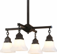 Arroyo Craftsman RCH-4 Ruskin Mini Chandelier Light