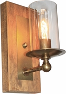 Artcraft AC10147BB Legno Rustico Burnished Brass Wall Lighting