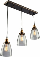 Artcraft AC10160 Greenwich Copper Brown Multi Drop Lighting