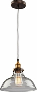 Artcraft AC10171 Greenwich Copper Brown Mini Pendant Light