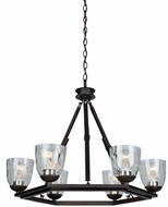 Artcraft AC10226OB Kent Modern Oil Rubbed Bronze Chandelier Lighting