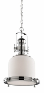 Artcraft AC10241CH Victoriaville Nautical Chrome Mini Hanging Light