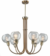 Artcraft AC10366 Veranda Contemporary Burnished Bronze Lighting Chandelier