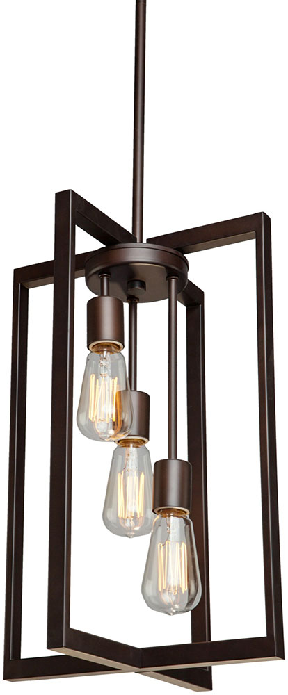 Artcraft AC10413 Gastown Contemporary Oil Rubbed Bronze 12