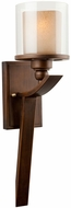 Artcraft AC1247 Sierra Oiled Bronze Wall Light Sconce