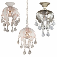 Artcraft AC6861 Prestige 7.5  Wide Flush Mount / Pendant Lighting