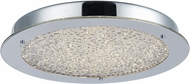Artcraft AC7310CH Stardust Chrome LED 12  Ceiling Light