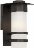 Artcraft AC9041BK Bedford Contemporary LED Outdoor Wall Lighting Fixture