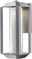 Artcraft AC9101SL Wexford Contemporary Silver LED Exterior Wall Mounted Lamp