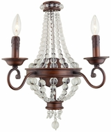 Artcraft CL1361 Cobochon Traditional Bronze Wall Sconce