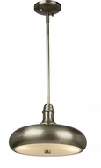 Artcraft CL15040BN Halo Modern Brushed Nickel Mini Ceiling Light Pendant