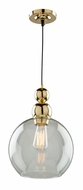 Artcraft JA14010GD Etobicoke Contemporary Gold Mini Hanging Light