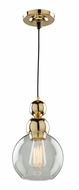 Artcraft JA14011GD Etobicoke Modern Gold Mini Pendant Light Fixture