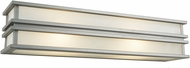 Artcraft SC13005SN Gatsby Modern Brushed Stainless Steel Halogen 18  Lighting Wall Sconce
