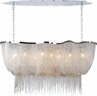 Avenue Lighting HF1401-CH Mulholland Dr. Modern Polished Chrome Finish 32  Tall Kitchen Island Light