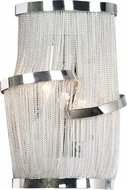 Avenue Lighting HF1404-CH Mulholland Dr. Modern Polished Chrome Finish 15  Tall Wall Light Fixture