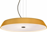 Besa 1KV-SOPHI1880-LED-BR Sophi Contemporary Bronze Amber Matte LED Hanging Lamp
