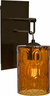 Besa 1WP-CRUSAM-BR Cruise Contemporary Bronze Lighting Sconce