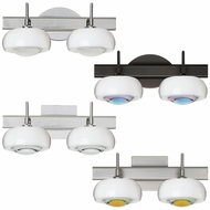 Besa 2SW-2634 Focus Contemporary 15.125  Wide Halogen Bathroom Lighting