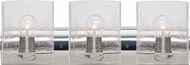 Besa 3WZ-CELTICBB-CR Celtic Contemporary Chrome Bubble 3-Light Vanity Light