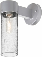 Besa JUNI10CL-WALL-SL Juni Contemporary Silver Clear Bubble Exterior Lighting Wall Sconce