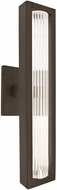 Besa Lighting EDGE17-LED-BR Edge Contemporary Bronze LED Exterior 17  Wall Light Fixture