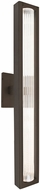 Besa Lighting EDGE28-LED-BR Edge Contemporary Bronze LED Exterior 28  Wall Lighting Sconce