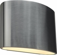 Bruck 103030AL-3-90 Encore Contemporary Brushed Chrome LED Wall Lighting Sconce