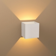 Bruck 103040WH-WH-3 QB Modern White Exterior / White Interior LED Wall Lighting