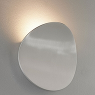 Bruck 103060AL Lunaro Contemporary Brushed Chrome LED Wall Sconce