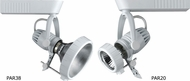 Cal 959 Track Mount Modern Metal Halide Residential Security Lighting