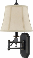 Cal BO-2443WL Madison Oil Rubbed Bronze Wall Swing Arm Lamp