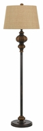 Cal BO-2479FL Andros Faux Wood Transitional Floor Lamp