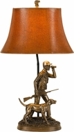 Cal BO-2665TB Hunter Country Cast Bronze Lighting Table Lamp