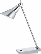 Cal BO-2690DK Modern Chrome LED Desk Lamp