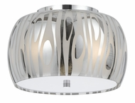 Cal FX-2294-1C Chicago Contemporary Chrome Ceiling Light
