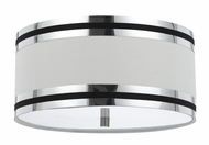 Cal FX-2295-1C Paxton Contemporary Chrome Ceiling Light Fixture