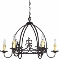 Cal FX-3509-6 Bird Cage Imperial Bronze Chandelier Light
