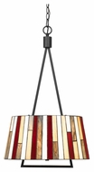 Cal FX-3543/1P Imperial 26.5  Tall Dark Bronze Pendant Lamp
