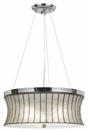 Cal FX-3546/1P Delray Chrome Finish 8  Tall Pendant Light