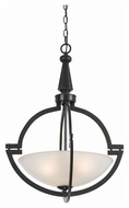 Cal FX-3552/1P Beverly Dark Bronze 23  Tall Pendant Light