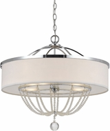 Cal FX-3559-5 Emilia Chrome Chandelier Lighting