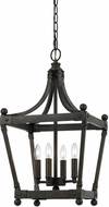 Cal FX-3595-4 Soperton Modern Dark Bronze Entryway Light Fixture