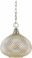 Cal FX-3600-1P Macon Modern Antique Glass Hanging Light