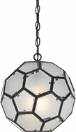 Cal FX-3608-1P Pablo Modern Glass Hanging Light Fixture
