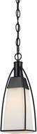 Cal FX-3612-1P Channing Modern Black Mini Drop Lighting Fixture
