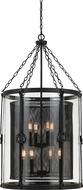 Cal FX-3617-8 Westchester Contemporary Blacksmith 22.5  Foyer Light Fixture
