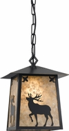 Cal PN-1108-6-DB Elk Dark Bronze Foyer Lighting Fixture